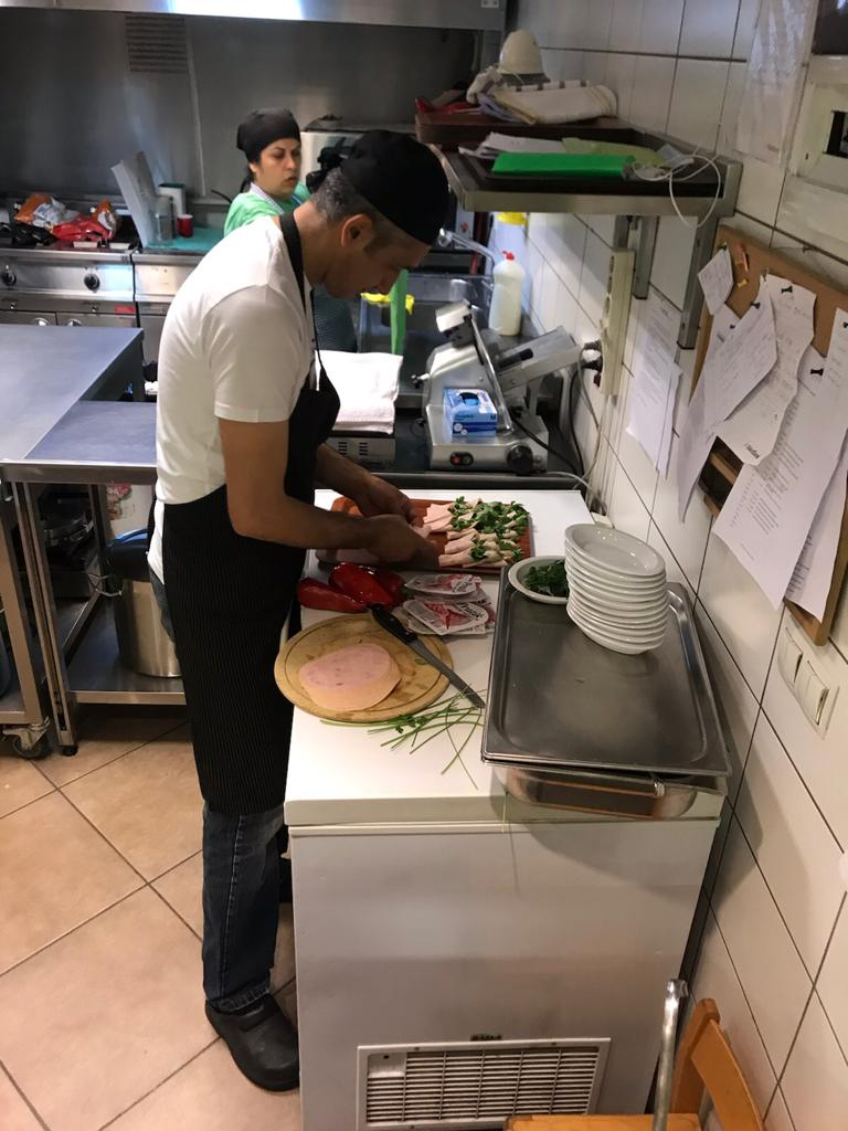 The Cook at work